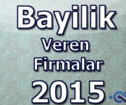 bayilik veren firmalar 2015