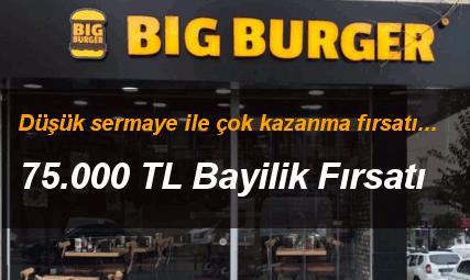 Big Burger Bayilik bayilik
