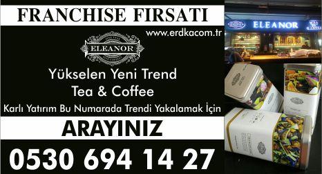 ELEANOR TEA COFFEE Bayilik bayilik