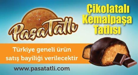 Paşa Tatlı Çikolatalı Kemalpaşa Tatlısı Bayilik bayilik